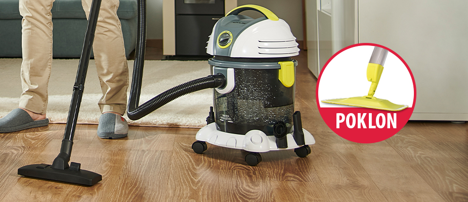 Victor usisivač + poklon Spray Mop!